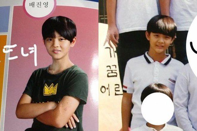 Đào mộ ảnh thời trẻ trâu của 11 hot boy WANNA ONE - Produce 101 (19)