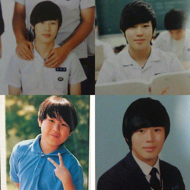 Đào mộ ảnh thời trẻ trâu của 11 hot boy WANNA ONE - Produce 101 (21)