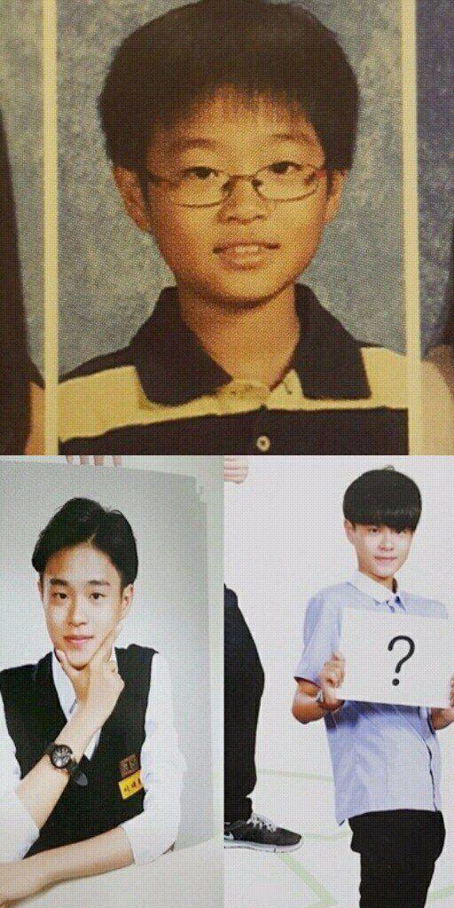 Đào mộ ảnh thời trẻ trâu của 11 hot boy WANNA ONE - Produce 101 (5)
