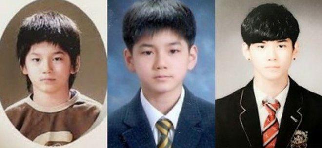 Đào mộ ảnh thời trẻ trâu của 11 hot boy WANNA ONE - Produce 101 (9)
