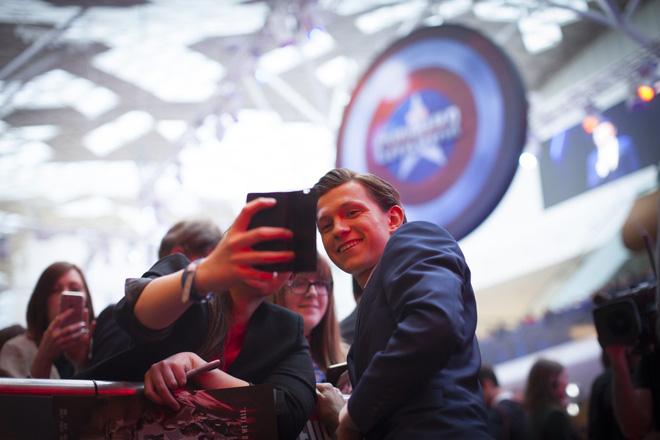 """Tom Holland: Gương mặt mới đại diện thương hiệu """"Spider-Man"""" (6)"""
