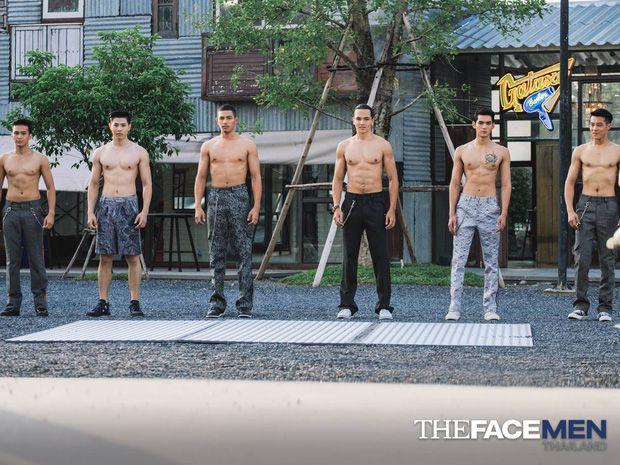 """""""Rửa mắt"""" với ngoại hình nóng bỏng của dàn trai đẹp The Face Men Thailand (1)"""